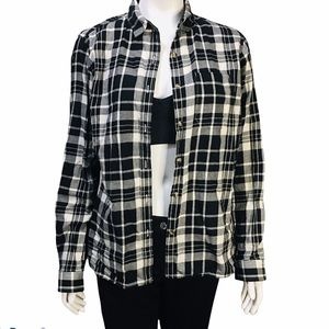 THE NORTH FACE  PLAID FLANNEL SHIRT SIZE L  G